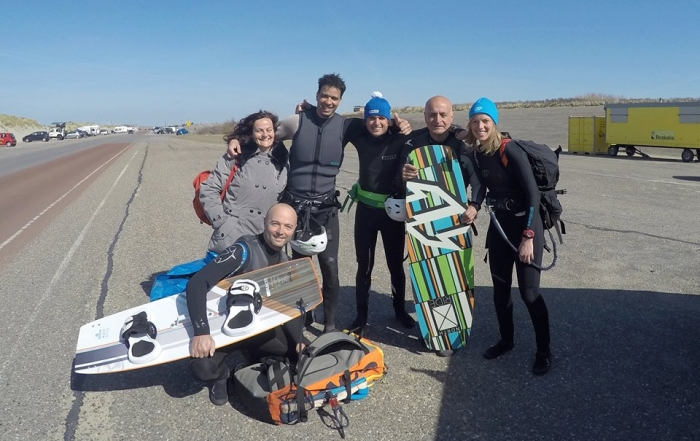 Kitesurf cours kite themis et Abdel