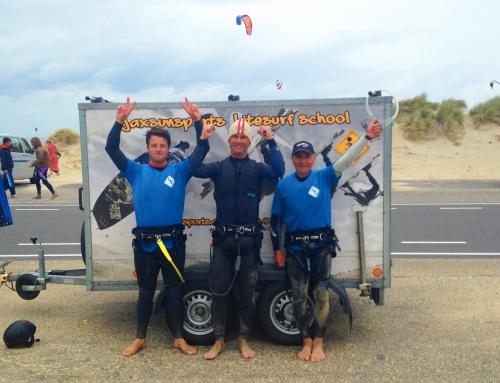Cours de kite VIP avec Christophe, Themis et Alain