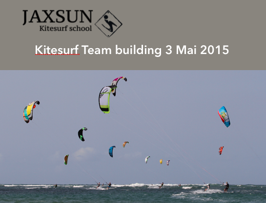 Team Building Kitesurf- Mai 2015