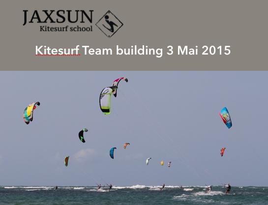 Team Building Kitesurf- Mai 2015