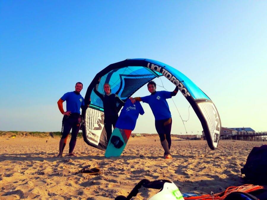 Un weekend kitesurf de folie(s)…haaa oooo