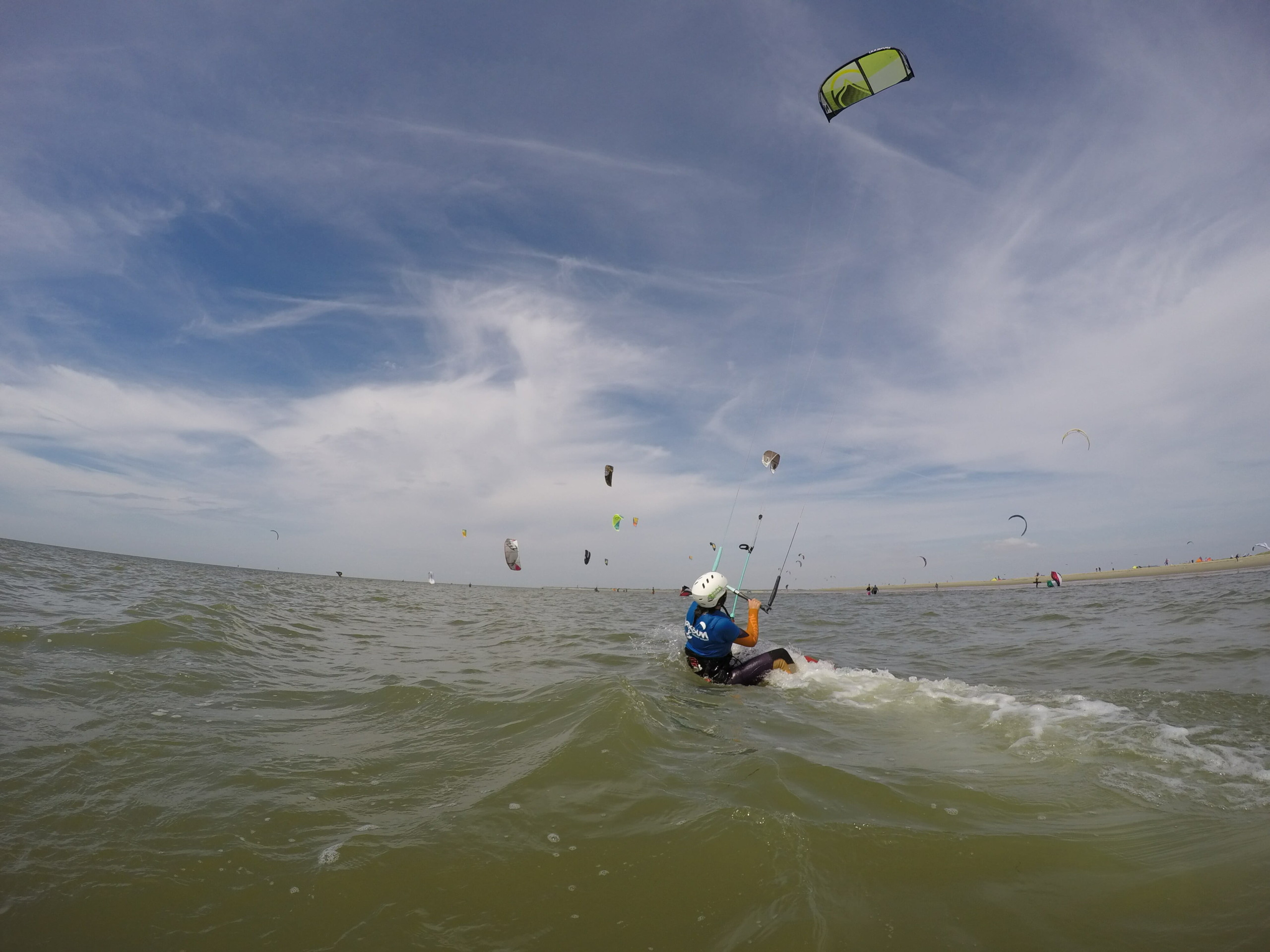 Eug and the Bro @ Brouwersdam Kitesurf Beach